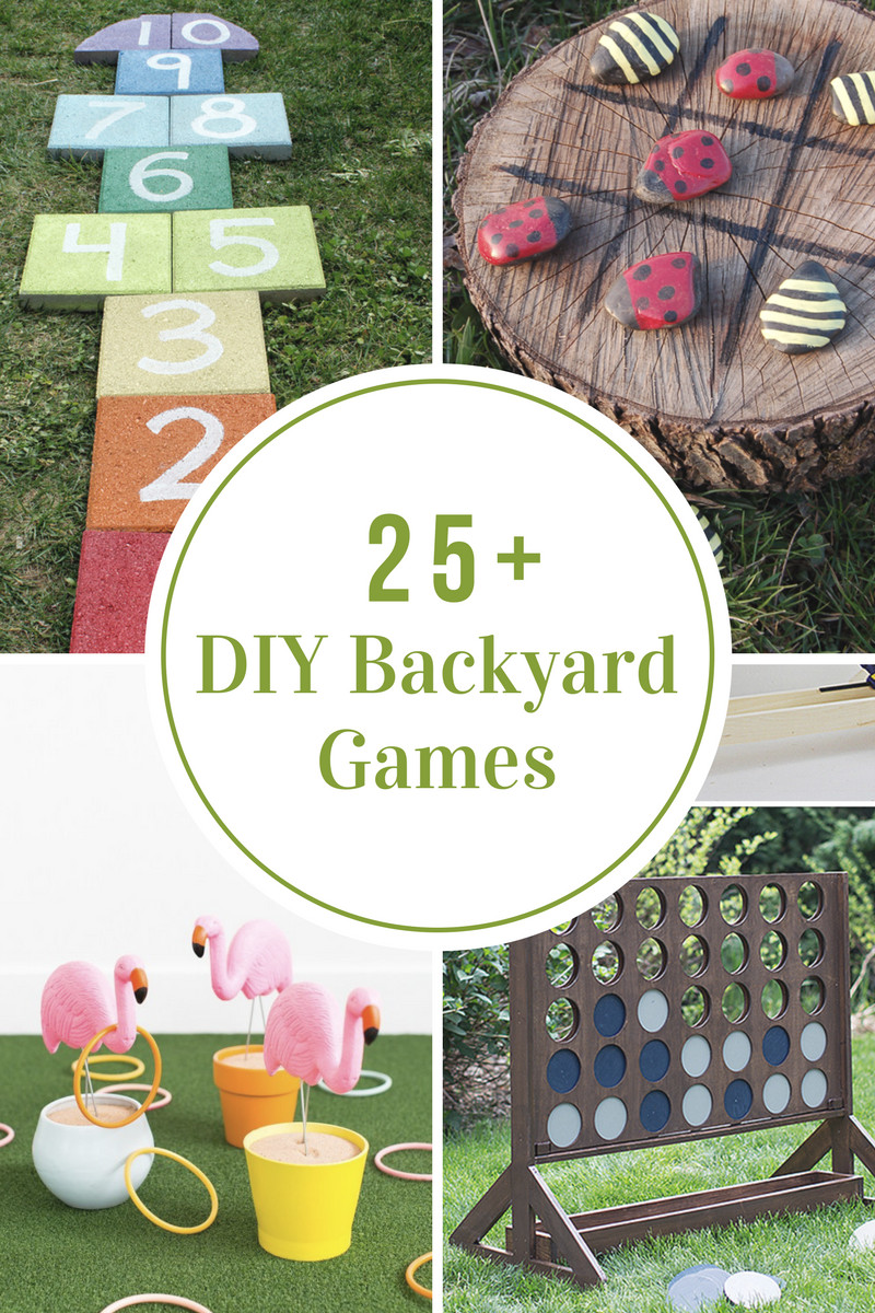Best ideas about Backyard Games DIY . Save or Pin DIY Backyard Games The Idea Room Now.