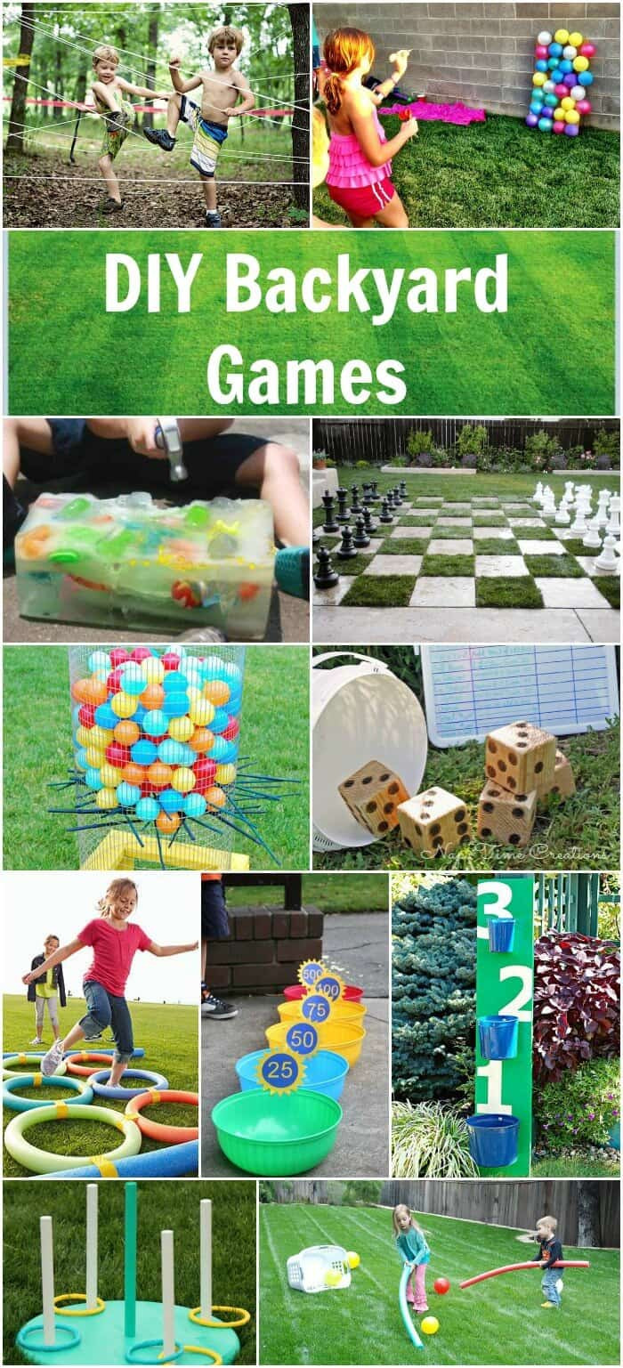 Best ideas about Backyard Games DIY . Save or Pin Easy DIY Backyard Games Princess Pinky Girl Now.