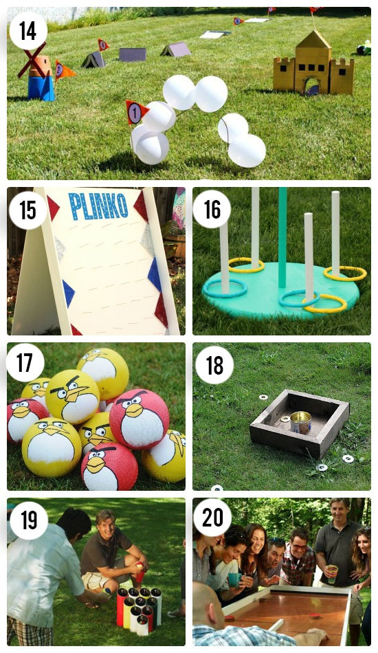 Best ideas about Backyard Games DIY . Save or Pin Fun Outdoor Games For The Entire Family The Dating Divas Now.