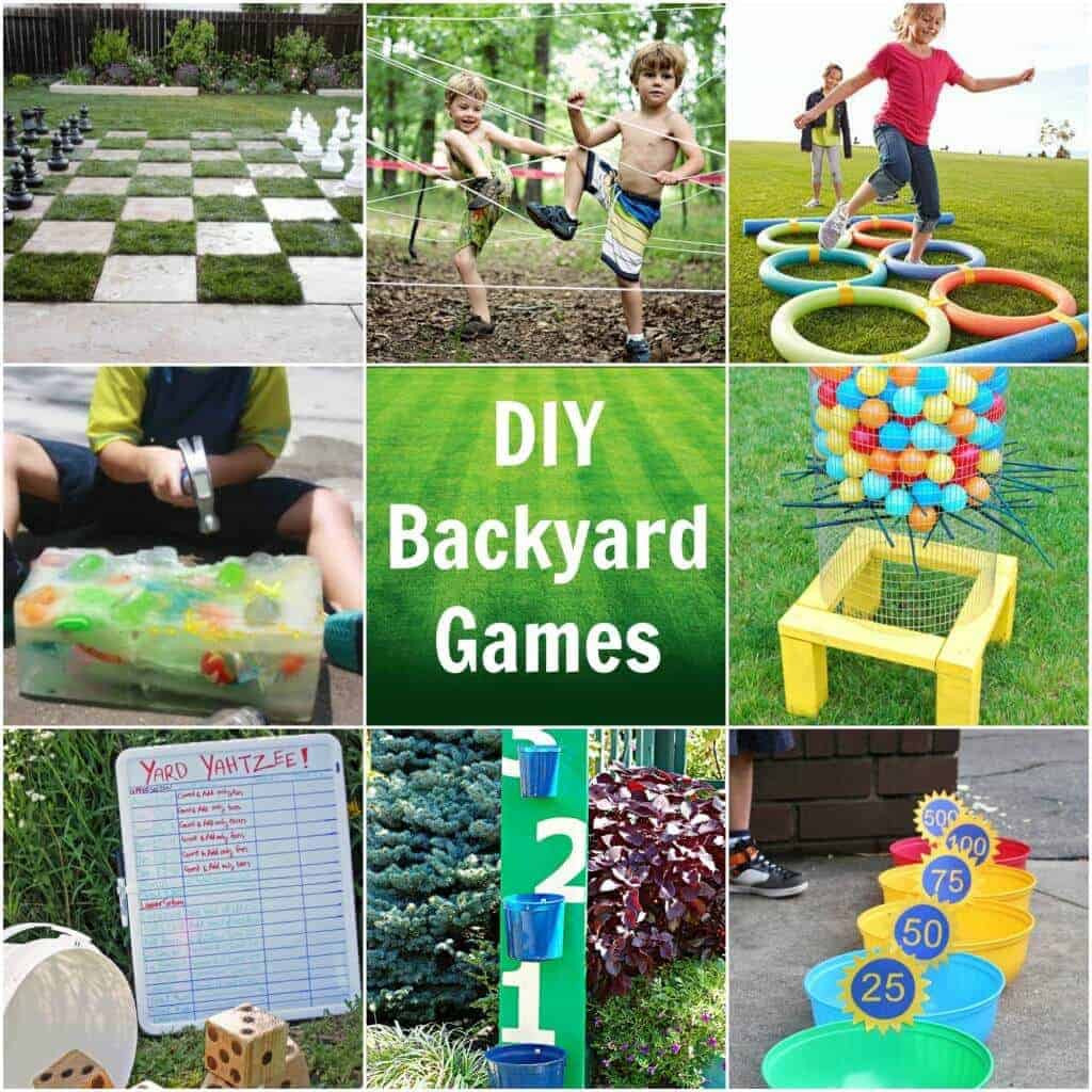 Best ideas about Backyard Games DIY . Save or Pin Backyard games featured 1024x1024 Now.