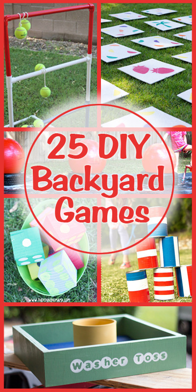 Best ideas about Backyard Games DIY . Save or Pin Remodelaholic Now.