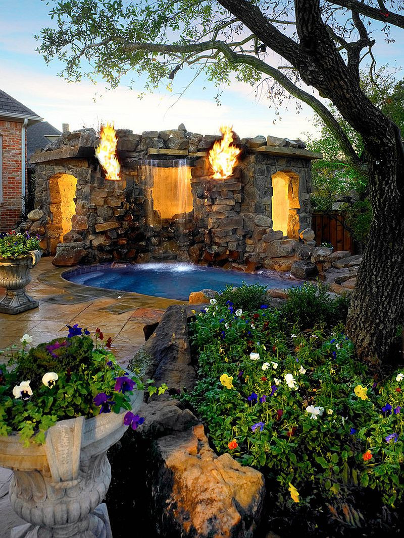 Best ideas about Backyard Landscape Ideas . Save or Pin 25 Spectacular Tropical Pool Landscaping Ideas Now.