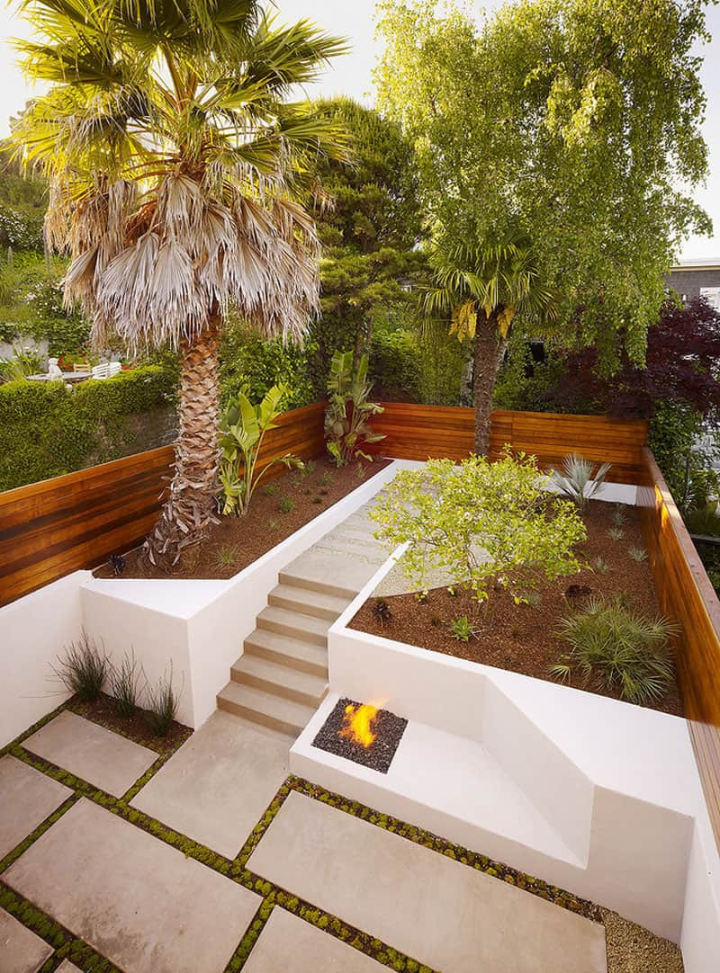 Best ideas about Backyard Landscape Ideas . Save or Pin How To Turn A Steep Backyard Into A Terraced Garden Now.