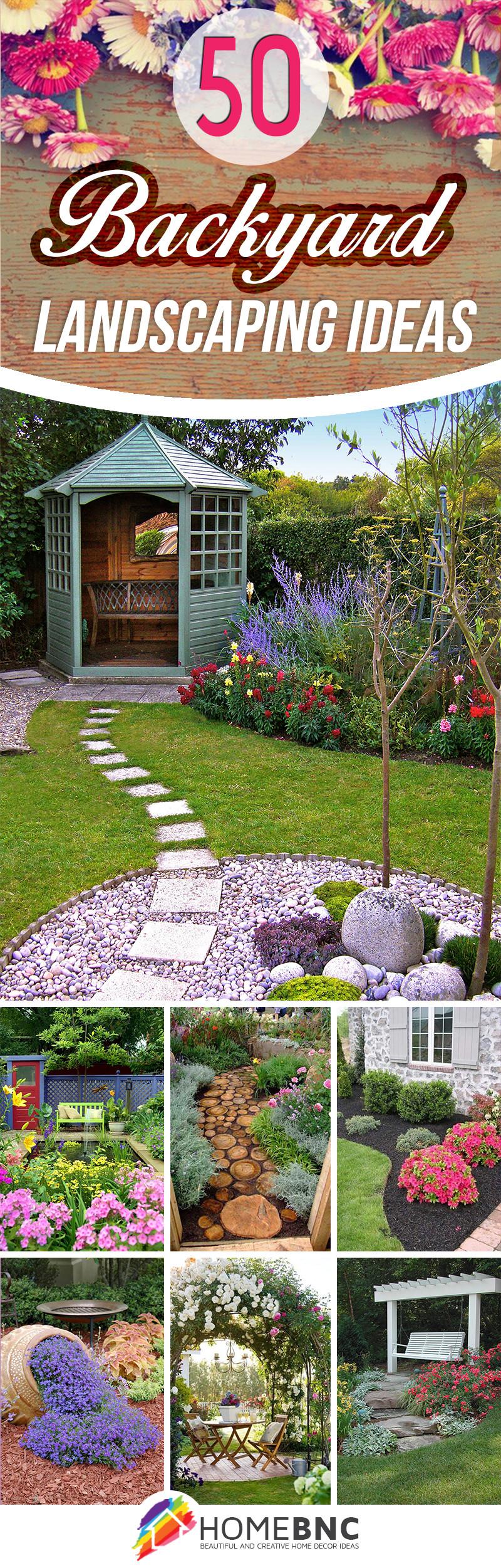 Best ideas about Backyard Landscape Ideas . Save or Pin 50 Best Backyard Landscaping Ideas and Designs in 2017 Now.