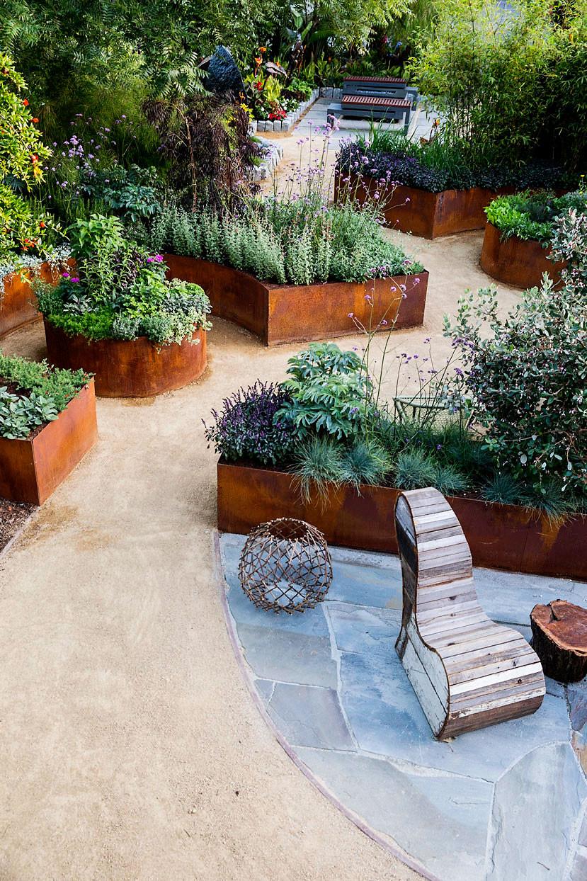 Best ideas about Backyard Landscape Ideas . Save or Pin Small Backyard Ideas for an Edible Garden Sunset Magazine Now.