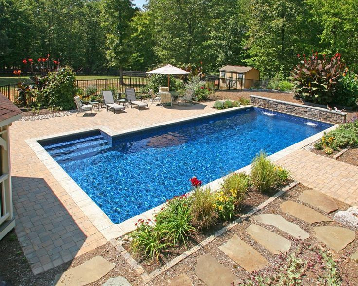 Best ideas about Backyard Pool Ideas . Save or Pin 1644 best Awesome Inground Pool Designs images on Now.