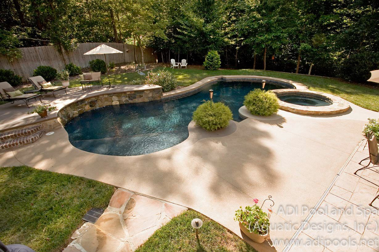 Best ideas about Backyard Pool Ideas . Save or Pin Backyard pool landscaping ideas Pools Now.