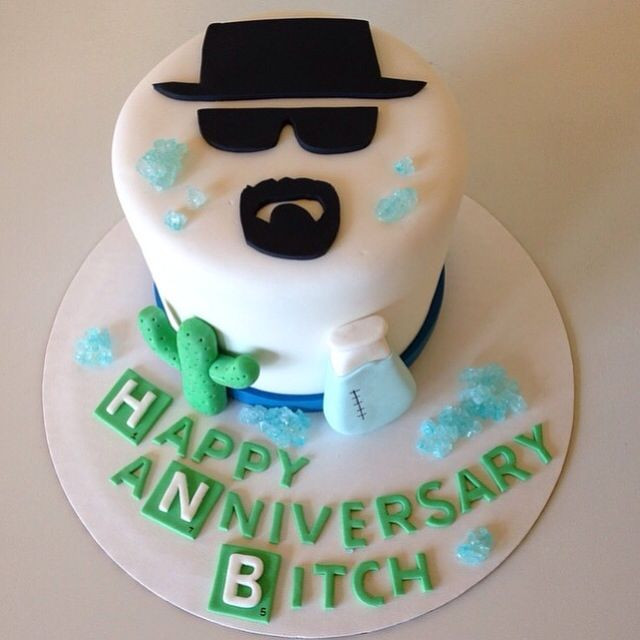 Best ideas about Bad Birthday Cake . Save or Pin Breaking Bad cake by Kristy Dax Now.