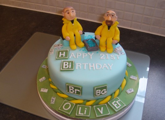 Best ideas about Bad Birthday Cake . Save or Pin Breaking Bad Birthday Cake Now.