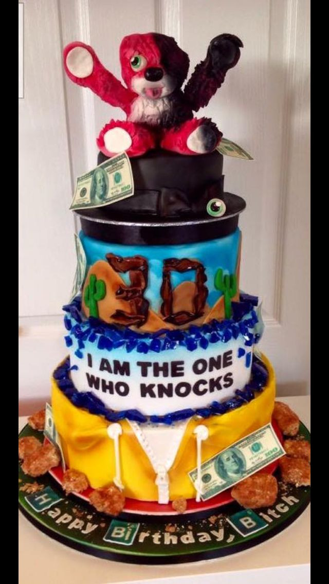 Best ideas about Bad Birthday Cake . Save or Pin Breaking bad cake wedding in 2019 Now.