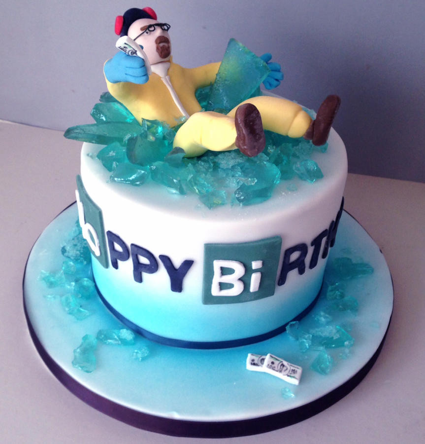 Best ideas about Bad Birthday Cake . Save or Pin Breaking Bad cake by Happyhills Cakes CakesDecor Now.