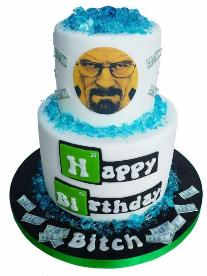 Best ideas about Bad Birthday Cake . Save or Pin 17 Best ideas about Breaking Bad Cake on Pinterest Now.
