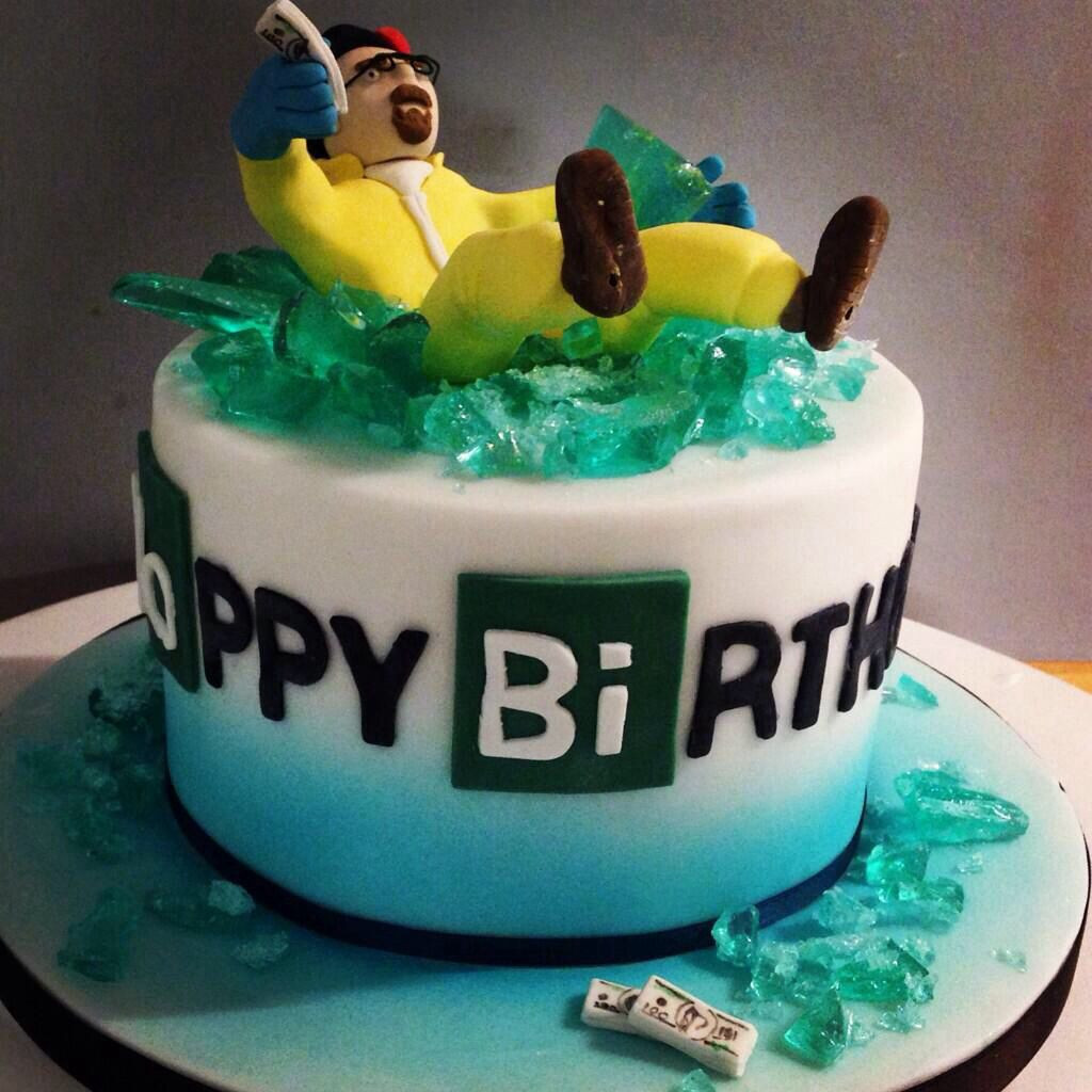 Best ideas about Bad Birthday Cake . Save or Pin Breaking bad cake caleb s bday Pinterest Now.