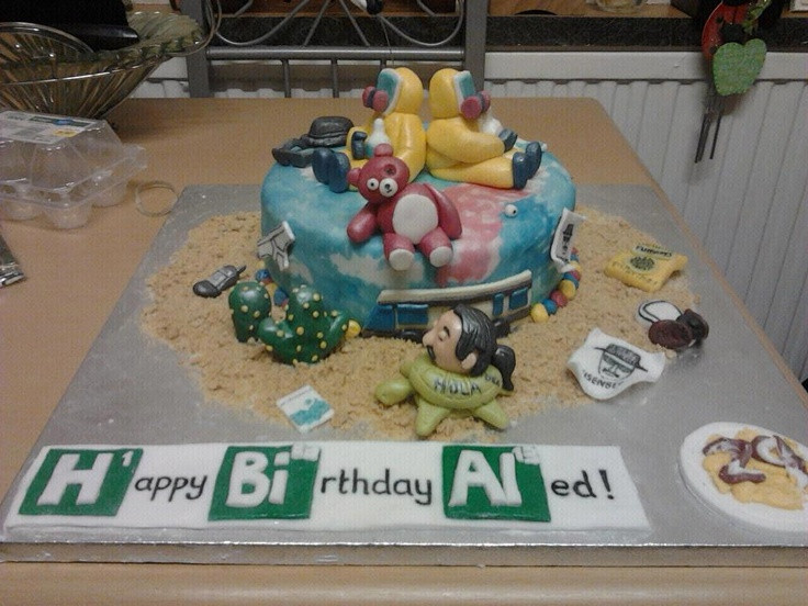Best ideas about Bad Birthday Cake . Save or Pin 36 Best images about Cupcakes Breaking Bad on Pinterest Now.