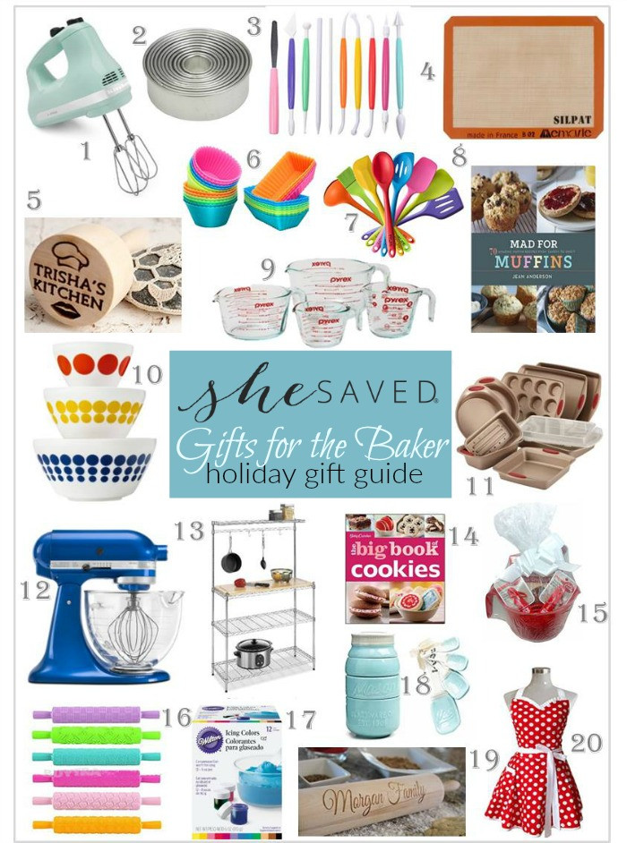 Best ideas about Baker Gift Ideas . Save or Pin HOLIDAY GIFT GUIDE Gifts for the Baker SheSaved Now.