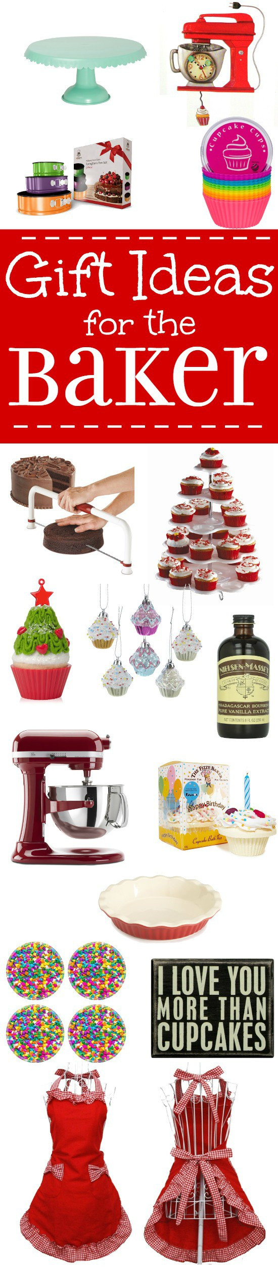 Best ideas about Baker Gift Ideas . Save or Pin Gift Ideas for the Baker Now.