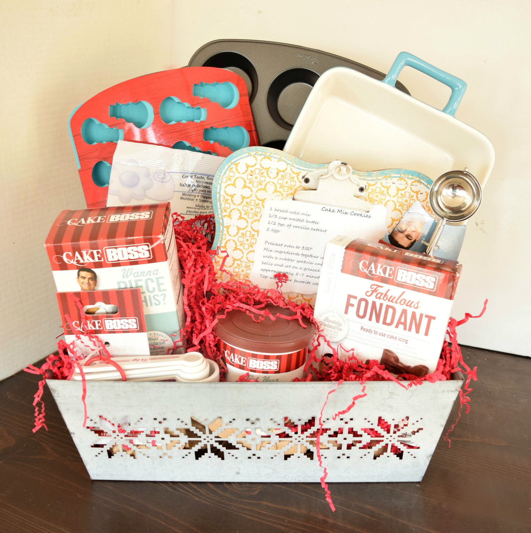Best ideas about Baker Gift Ideas . Save or Pin 3 DIY Gift Basket Ideas Now.