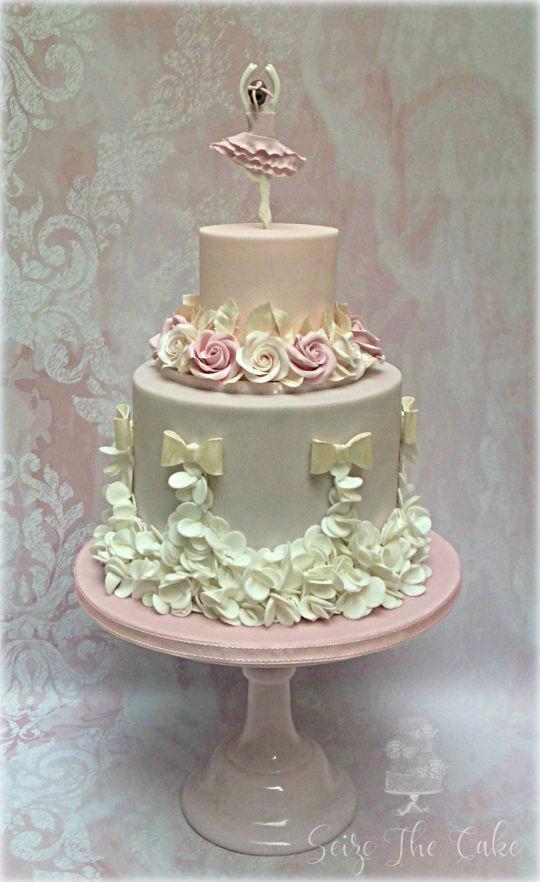 Best ideas about Ballerina Birthday Cake . Save or Pin Ballerina Birthday Cake cake by Seize The Cake CakesDecor Now.