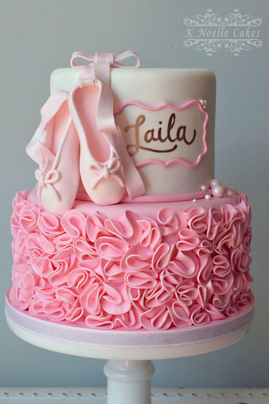 Best ideas about Ballerina Birthday Cake . Save or Pin Ballerina theme birthday cake By K Noelle Cakes Now.