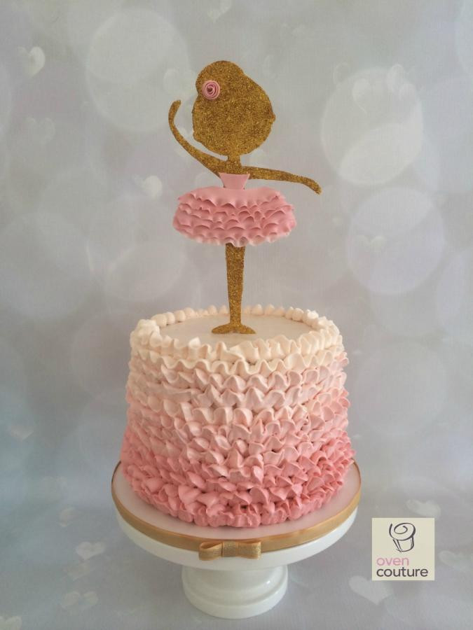 Best ideas about Ballerina Birthday Cake . Save or Pin Ballerina Cake cake by Oven Couture CakesDecor Now.