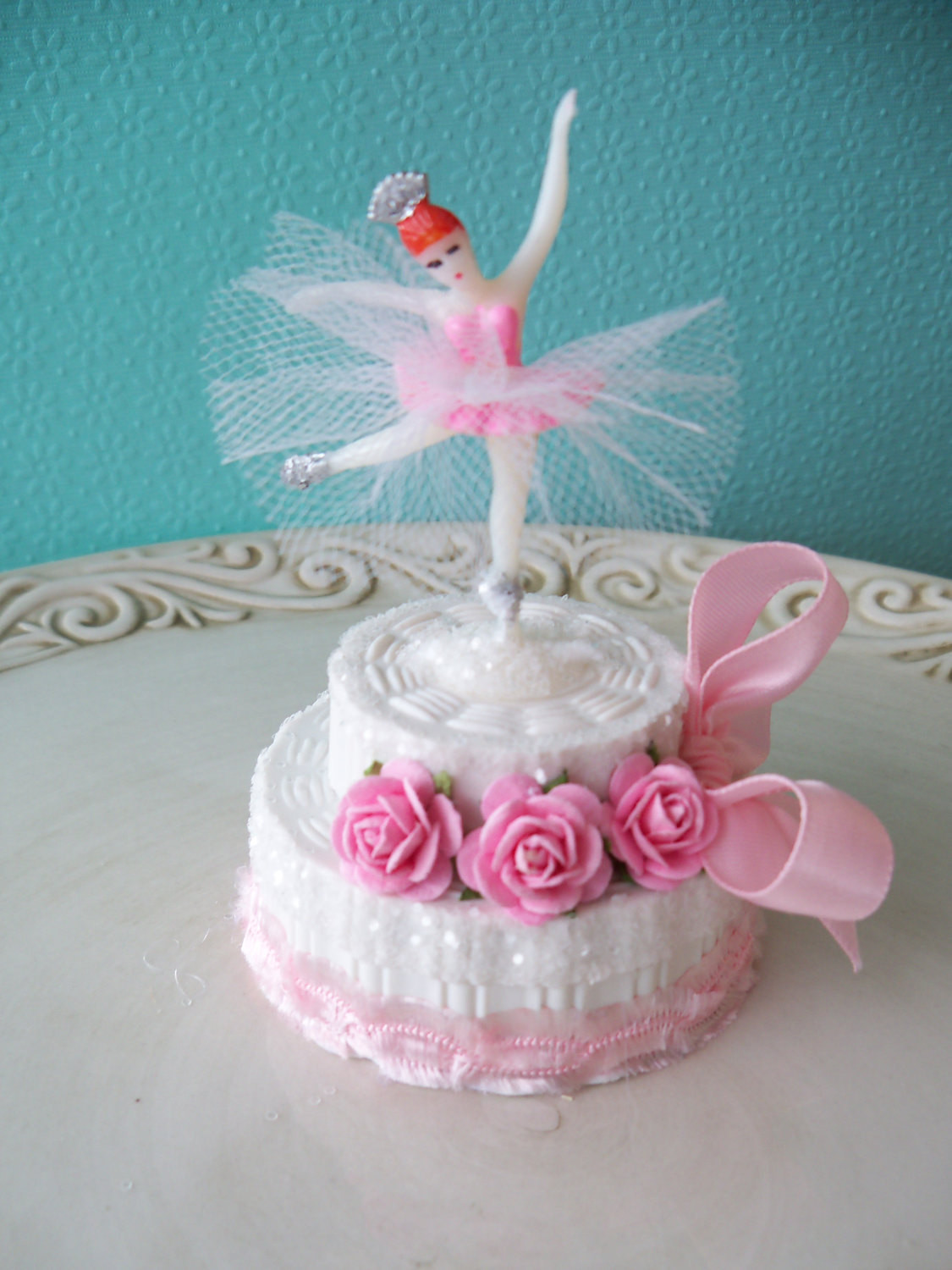 Best ideas about Ballerina Birthday Cake . Save or Pin Ballerina Birthday Cake Trinket Box for Ballet party TVAT Now.