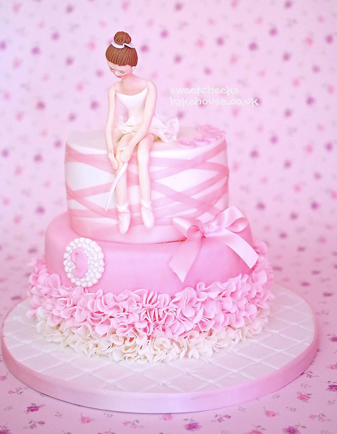 Best ideas about Ballerina Birthday Cake . Save or Pin 17 ballerina cakes for your tiny dancer Now.