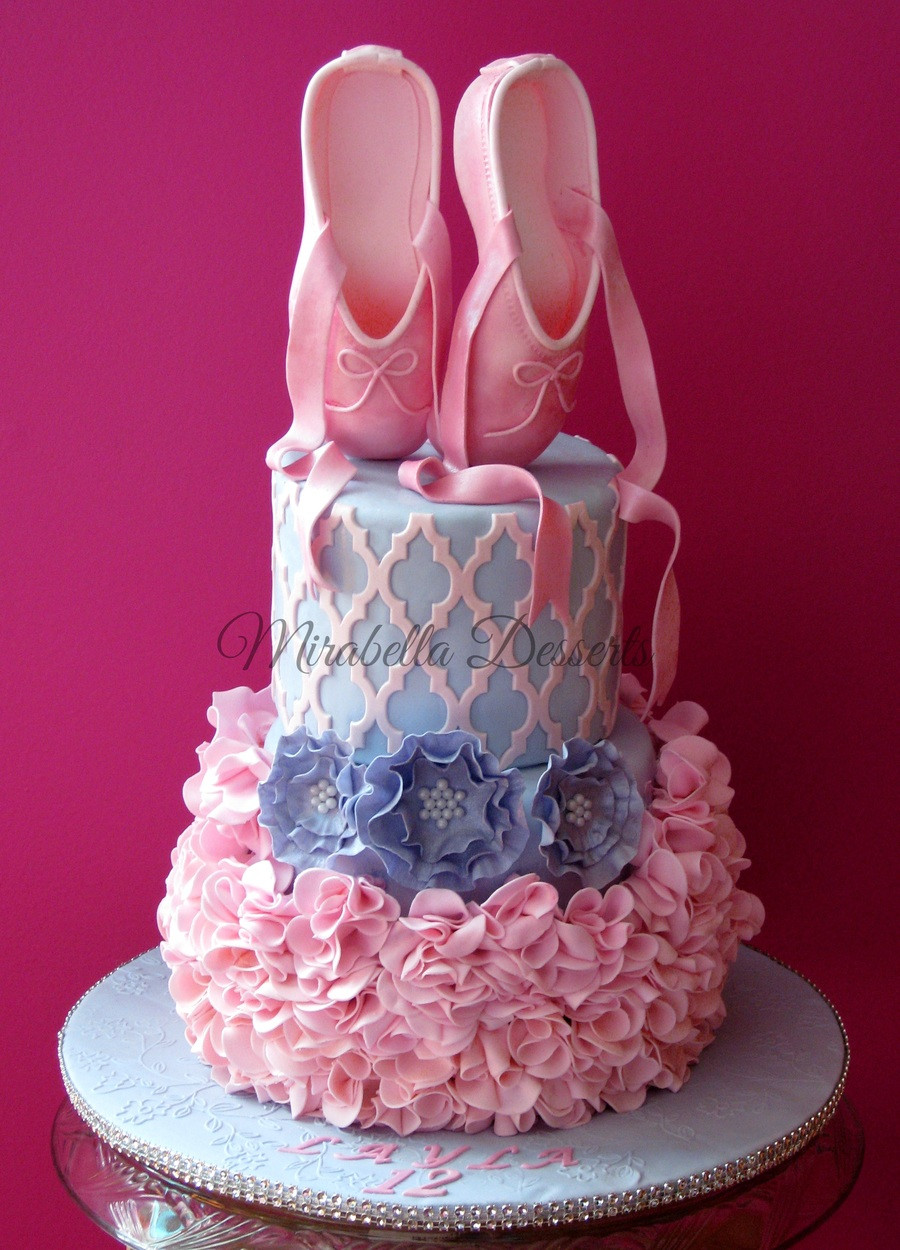 Best ideas about Ballerina Birthday Cake . Save or Pin The Sensational Cakes August 2015 Now.