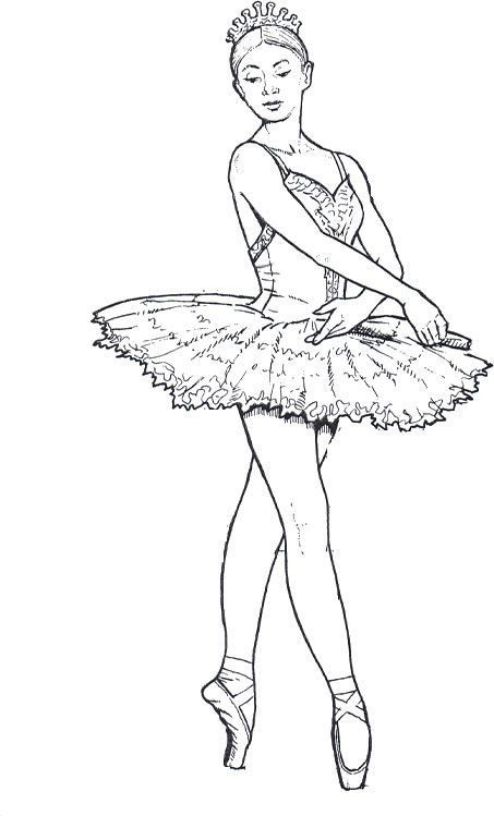 Best ideas about Ballerina Coloring Pages For Girls . Save or Pin ballet dancers coloring pages for teenagers and adults Now.