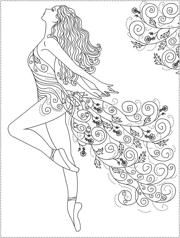 Best ideas about Ballerina Coloring Pages For Girls . Save or Pin Best 25 Ballerina coloring pages ideas on Pinterest Now.