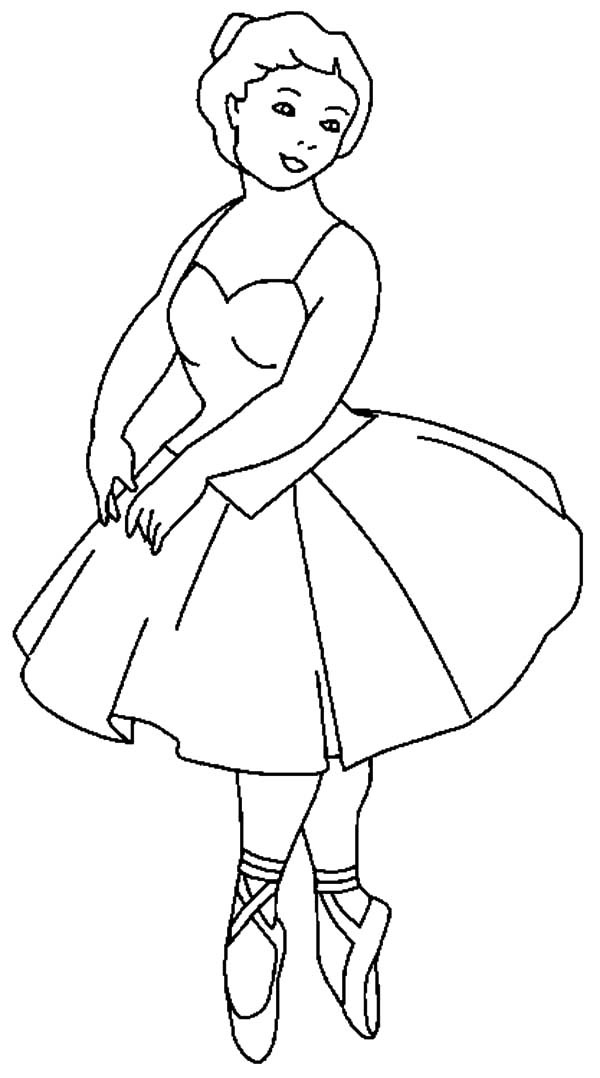 Best ideas about Ballerina Coloring Pages For Girls . Save or Pin Barbie Ballerina Girl Coloring Pages Now.