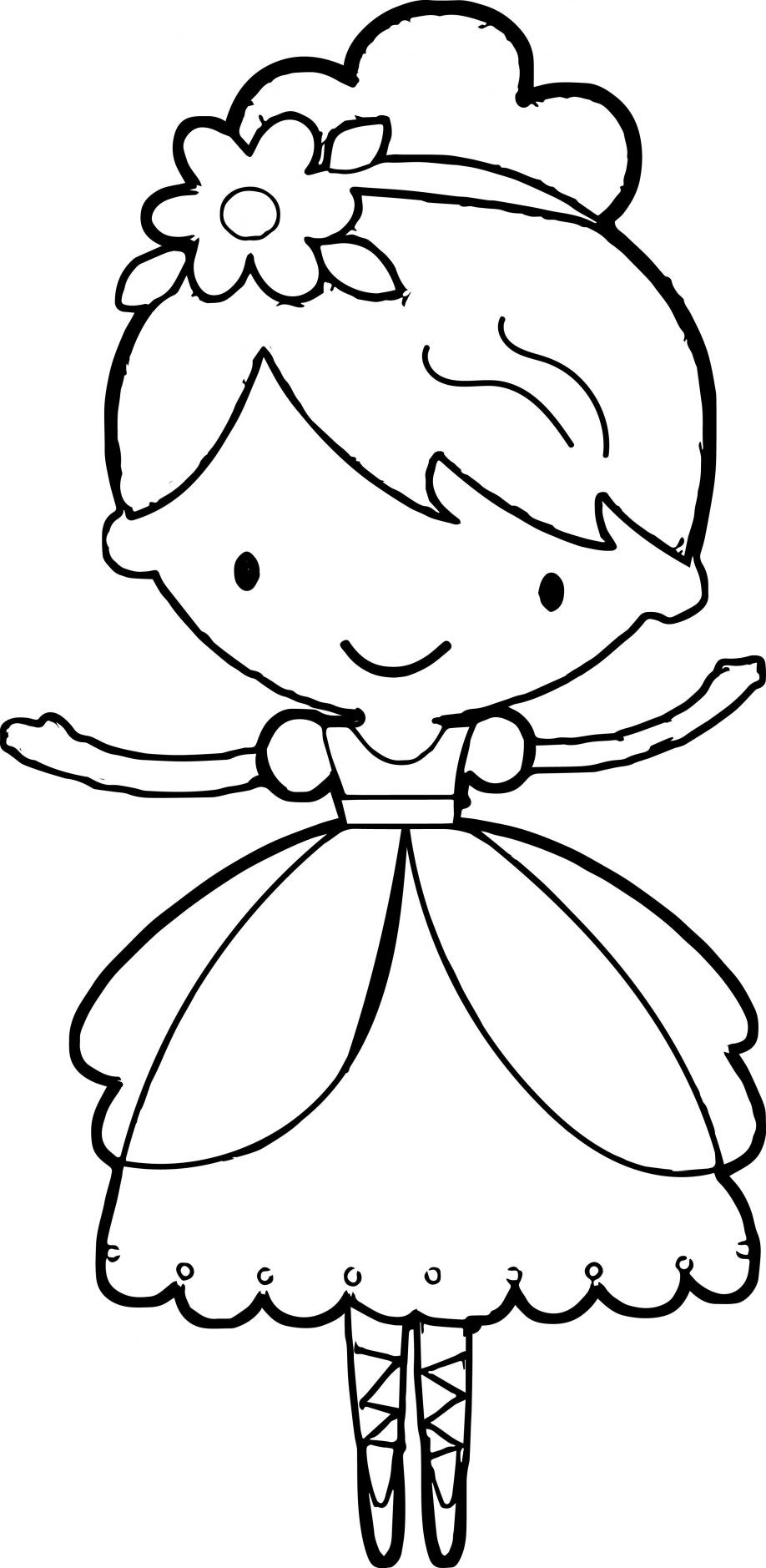 Best ideas about Ballerina Coloring Pages For Girls . Save or Pin 25 Ballerina Coloring Pages ColoringStar Now.
