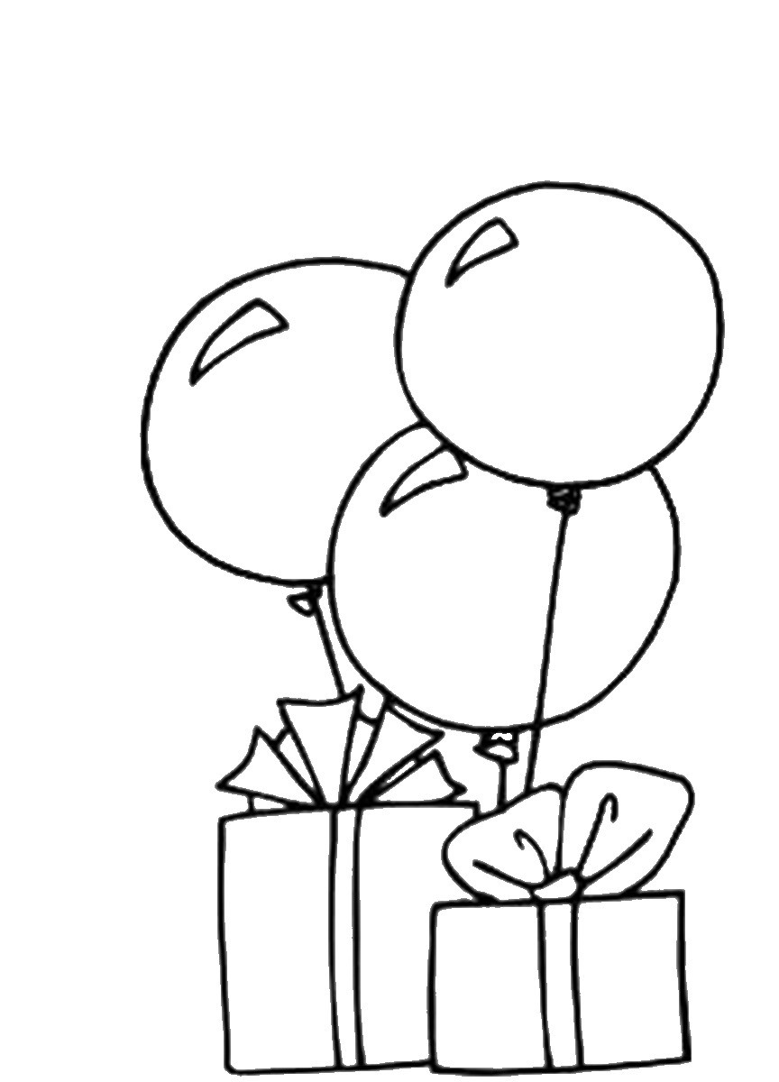 Best ideas about Balloon Coloring Pages For Kids . Save or Pin Balloons Coloring Pages Now.