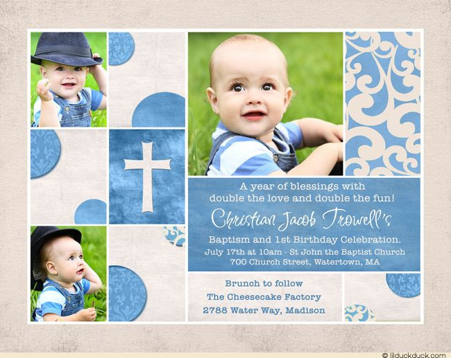 Best ideas about Baptism Birthday Invitations . Save or Pin Best 25 bined birthday parties ideas on Pinterest Now.
