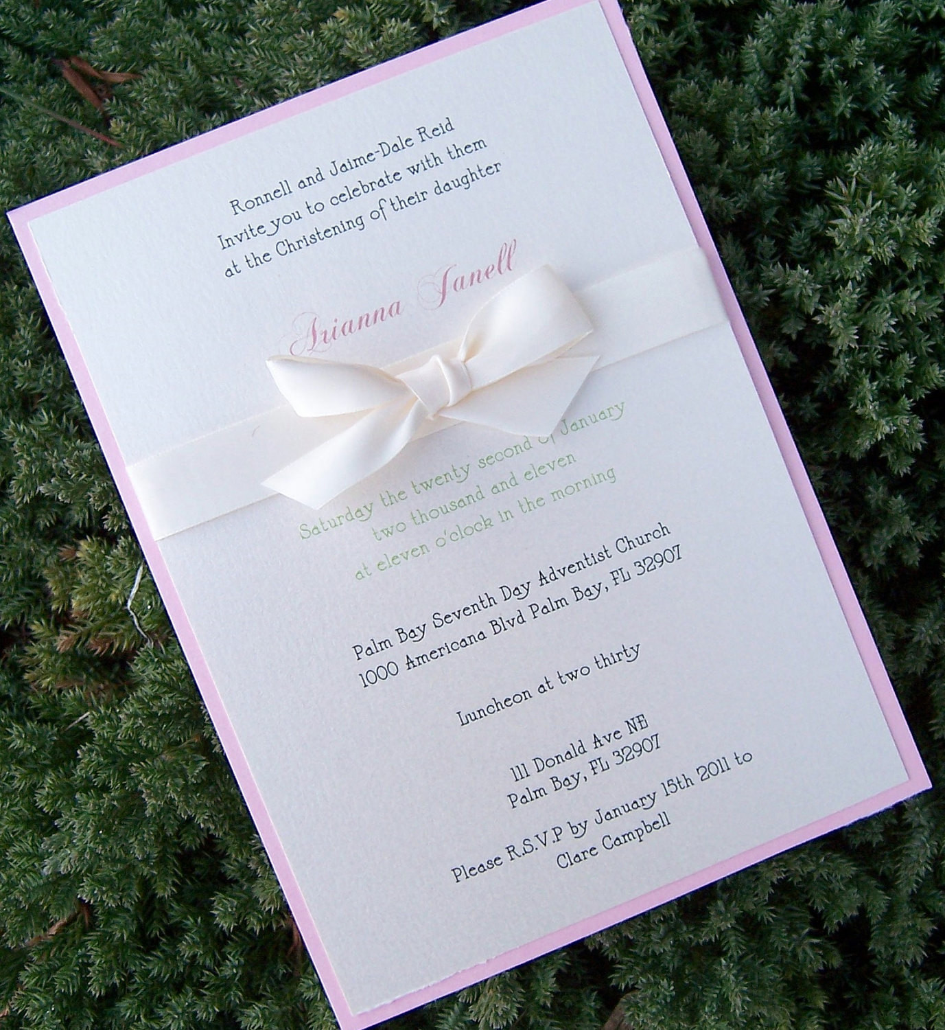 Best ideas about Baptism Birthday Invitations . Save or Pin Baptism invitation child birthday party invitation baby Now.