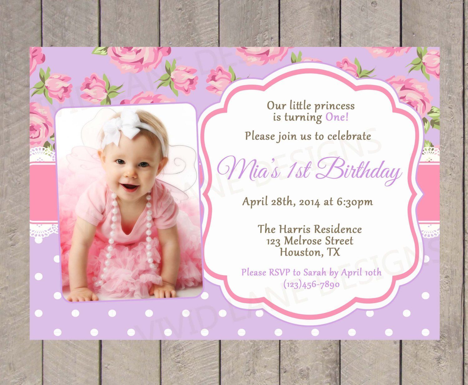 Best ideas about Baptism Birthday Invitations . Save or Pin Christening And Birthday Invitation Now.
