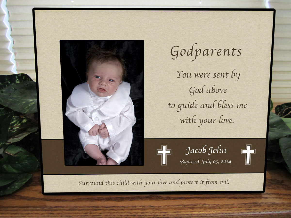 Best ideas about Baptism Gift Ideas From Godmother . Save or Pin Godparent Gift Baptism Gift for Godparents Baptism Gift Now.