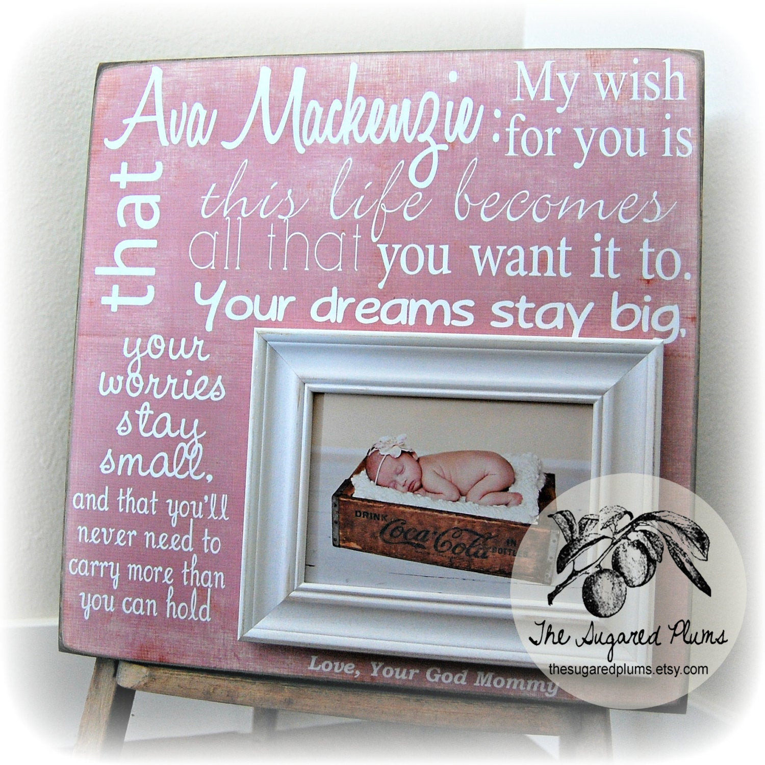 Best ideas about Baptism Gift Ideas From Godmother . Save or Pin Baptism Gift Baptism Gifts From Godparents Baptism Gifts For Now.