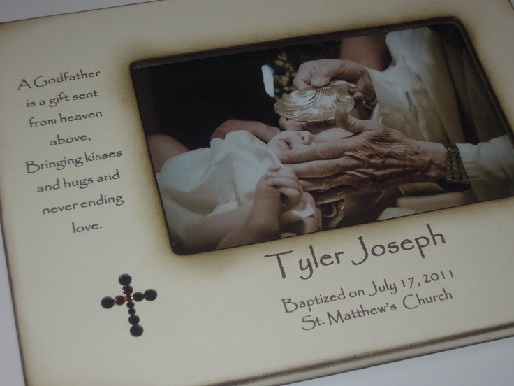 Best ideas about Baptism Gift Ideas From Godmother . Save or Pin 33 best Godparent ts images on Pinterest Now.