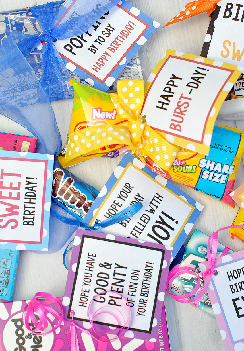 Best ideas about Bar Gift Ideas . Save or Pin Candy Bar Sayings for Simple Birthday Gifts – Fun Squared Now.