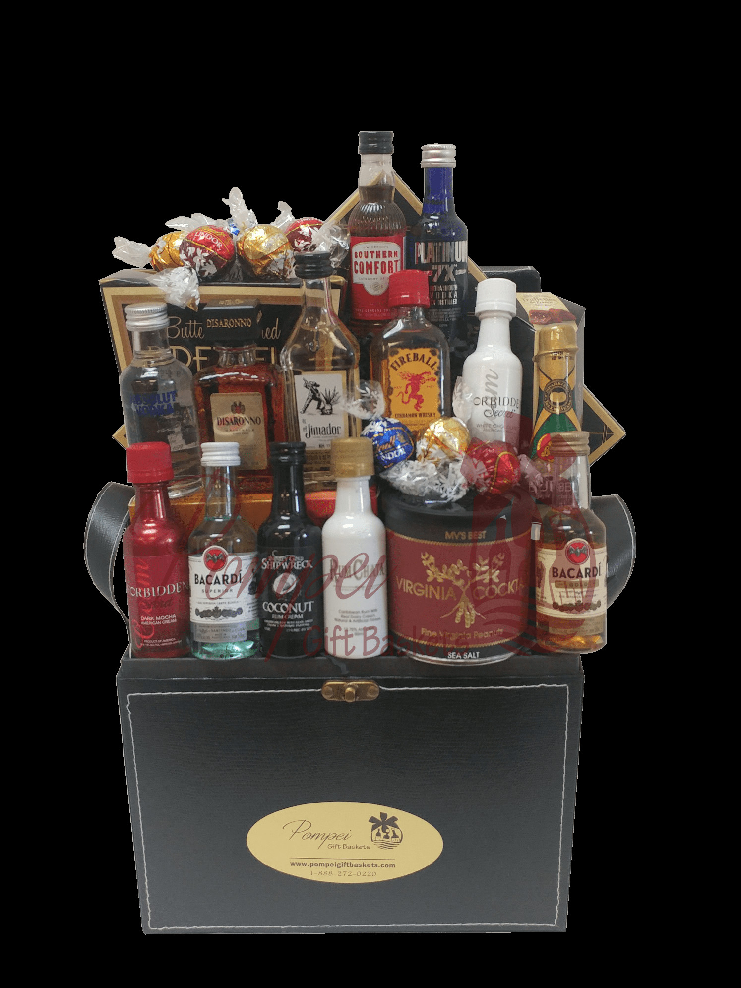 Best ideas about Bar Gift Ideas . Save or Pin Super Sampler Mini Bar Gift Basket by Pompei Baskets Now.