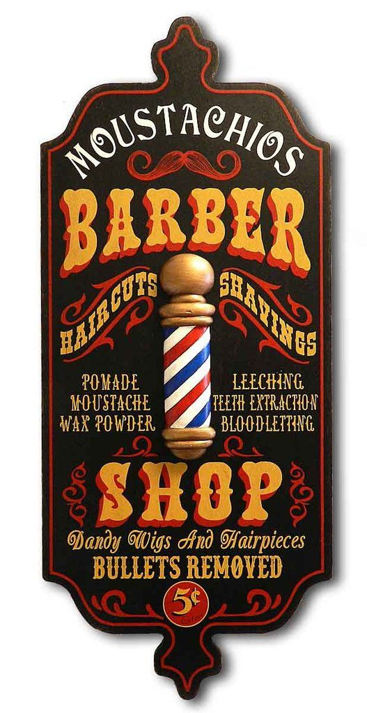 Best ideas about Barber Gift Ideas . Save or Pin Best 25 Vintage wood signs ideas on Pinterest Now.