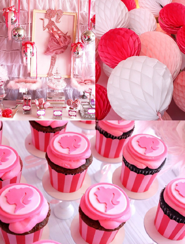 Best ideas about Barbie Birthday Party . Save or Pin A Pink 7th Birthday Enchanted Prom Party Party Ideas Now.