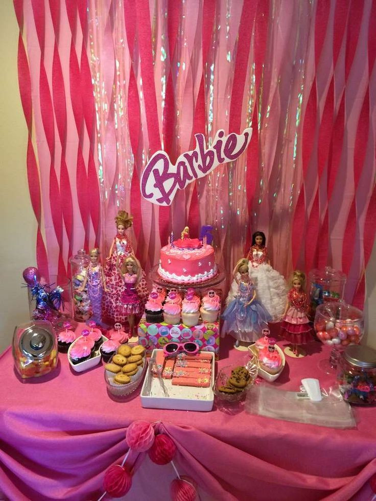 Best ideas about Barbie Birthday Party . Save or Pin 17 Best images about Barbie Party Ideas on Pinterest Now.