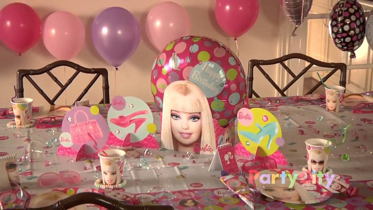 Best ideas about Barbie Birthday Party . Save or Pin Barbie Birthday Party Ideas Now.