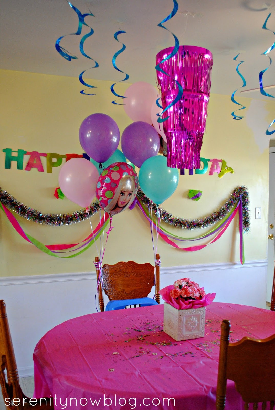 Best ideas about Barbie Birthday Party . Save or Pin Serenity Now Throw a Barbie Birthday Party at Home Now.
