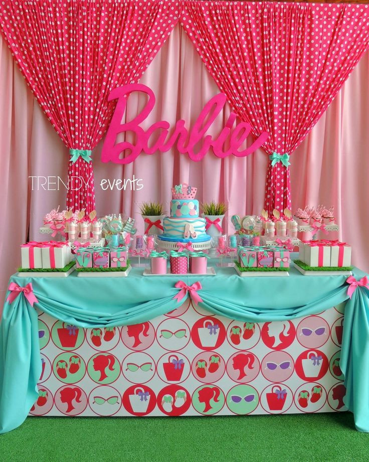 Best ideas about Barbie Birthday Party . Save or Pin Best 25 Barbie birthday party ideas on Pinterest Now.