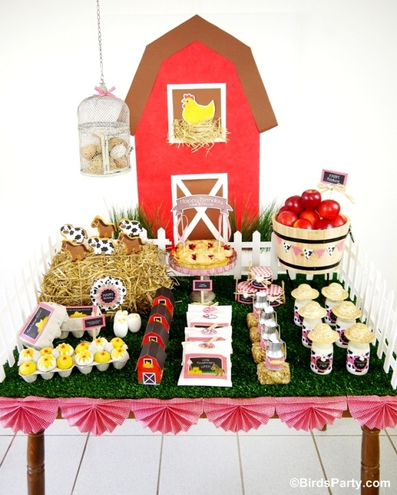 Best ideas about Barn Birthday Party . Save or Pin My Kids Joint Barnyard Farm Birthday Party Party Ideas Now.