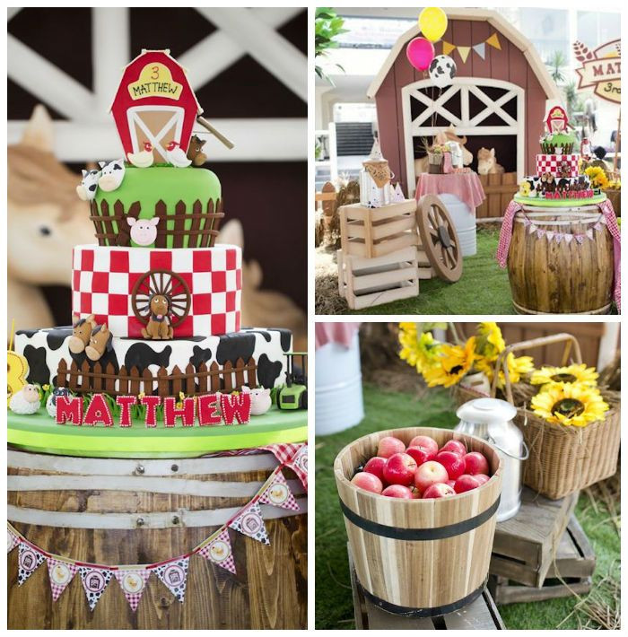 Best ideas about Barn Birthday Party . Save or Pin Barnyard Birthday Party via Kara s Party Ideas Now.
