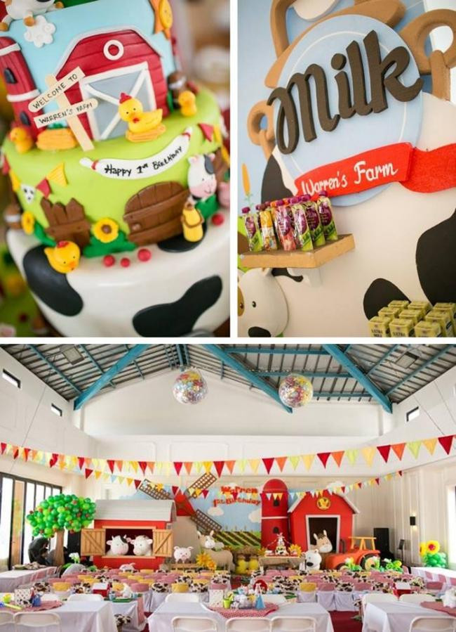Best ideas about Barn Birthday Party . Save or Pin 41 Farm Themed Birthday Party Ideas Spaceships and Laser Now.
