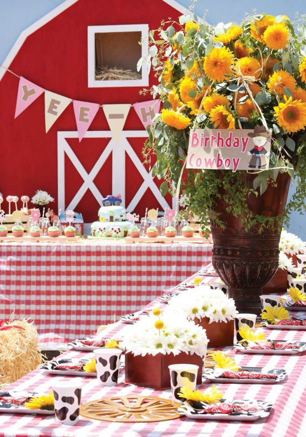 Best ideas about Barn Birthday Party . Save or Pin 98 best PARTY IDEAS Barnyard Farm Country Themed Now.